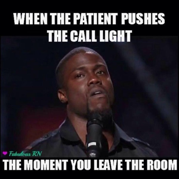 Nurse call light meme