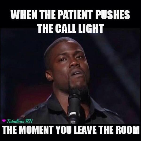 Nurse call light meme