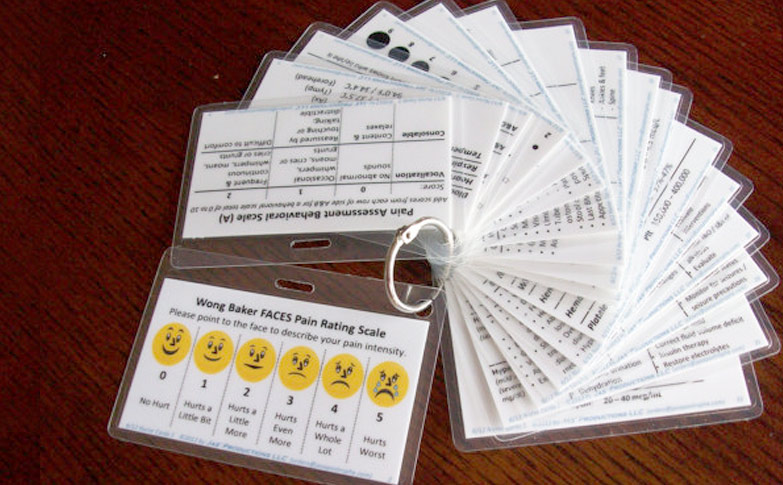 Nurse Bling Handy Pocket Reference Cards For Nursing