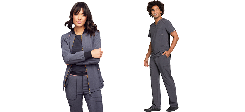 Sporty, Stylish, and Sensible: Why the Heathered Trend is Perfect for Healthcare