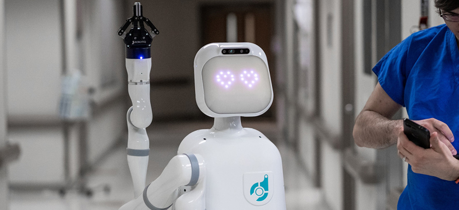 How a Robot Named Moxie is Helping Nurses Spend More Time with Patients