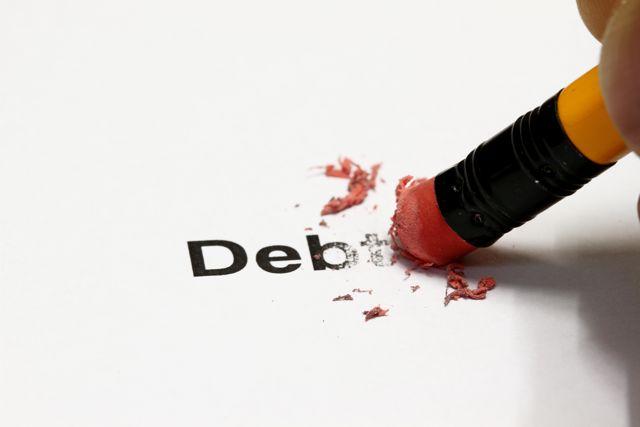 Erasing a debt