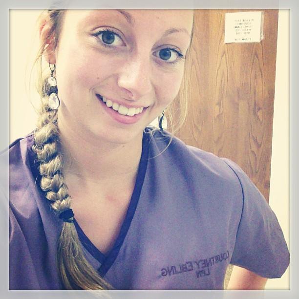 Nurse selfie