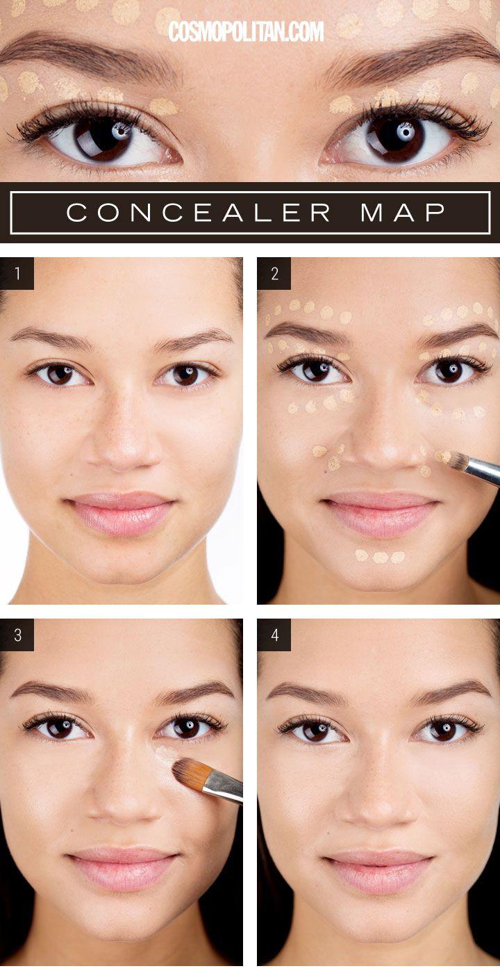 Proper Way To Apply Foundation Makeup Saubhaya Makeup