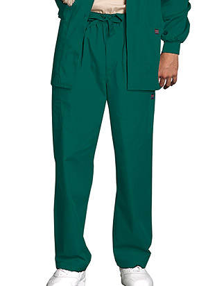 Men's Utility Scrubs Pants in Hunter