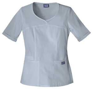 Cherokee - Scrubs top in grey