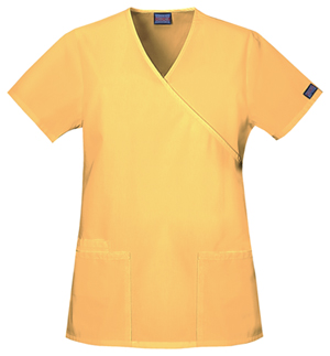 Cherokee - Dandelion Yellow scrubs top