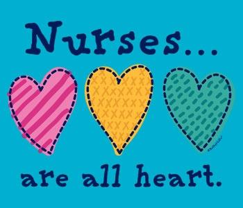 Nurses are all heart