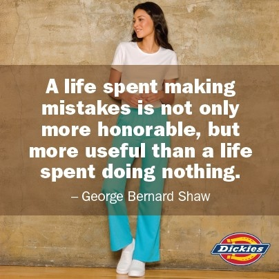 A life spent making mistakes...