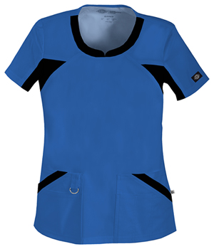 Blue Dickies Scrub top