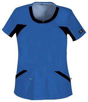 Blue Dickies Scrub top