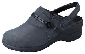 Dickies Clog in Black Oil Leather