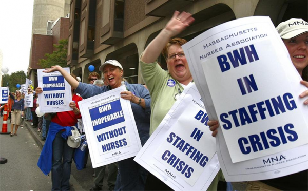 Brigham Nurses' Strike Would Be City's First In 30 Years