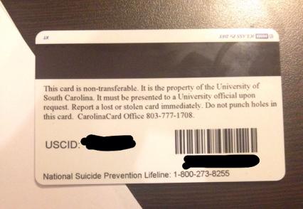 Carolina Card AAMN