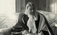 "Listen to the voice of ""The Lady with the Lamp,"" Florence Nightingale"