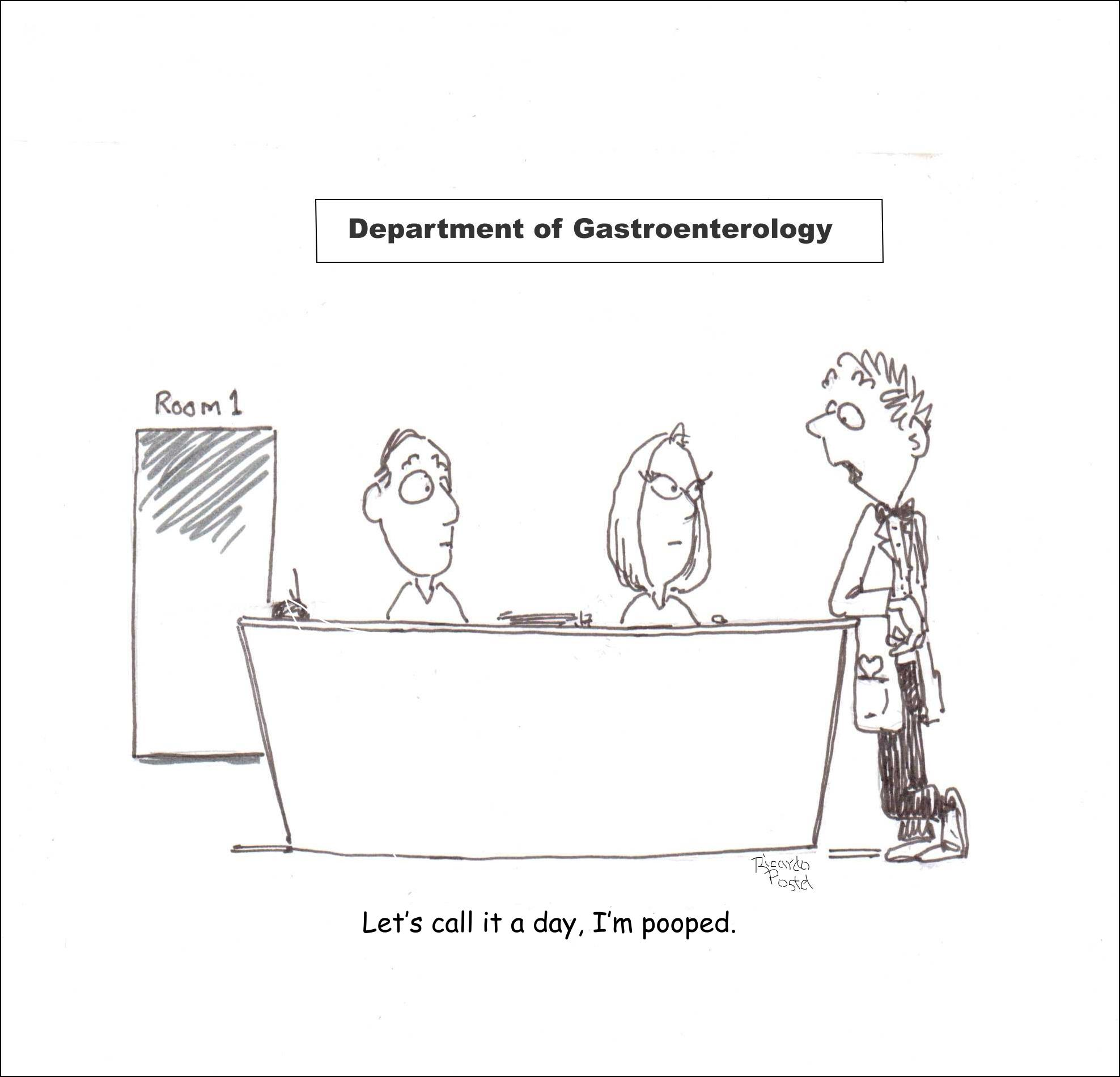 Nurse cartoons - Gastroenterology