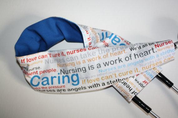 honoring nurses stethoscope cover