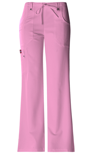 Jr. Fit Mid-Rise Drawstring Cargo Pant in Pink Opal