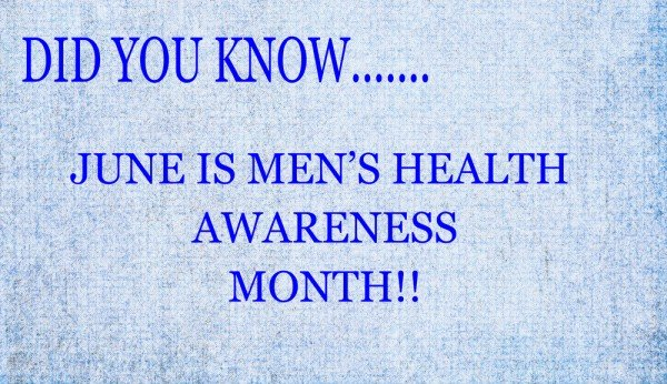 June Is Men's Health Month – 5 Diseases That Disproportionately Affect Men