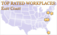 The List: Top rated workplaces on the East Coast