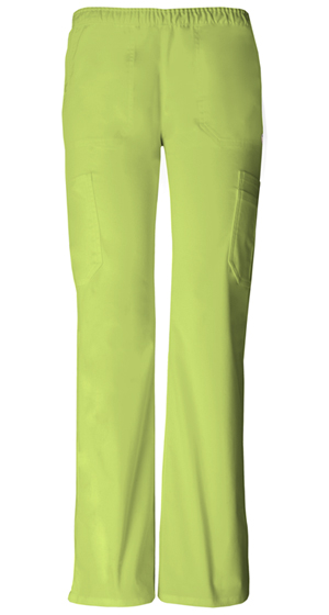 """Soul Mate"" Low-Rise Pull-on Cargo Pant in Citrus Blast"