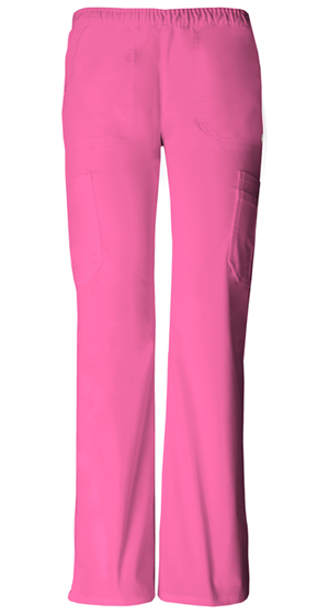 """Soul Mate"" Low-Rise Pull-on Cargo Pant in Pink Party"