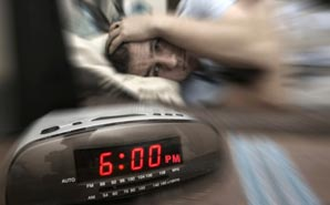 Nurse wakes up for work