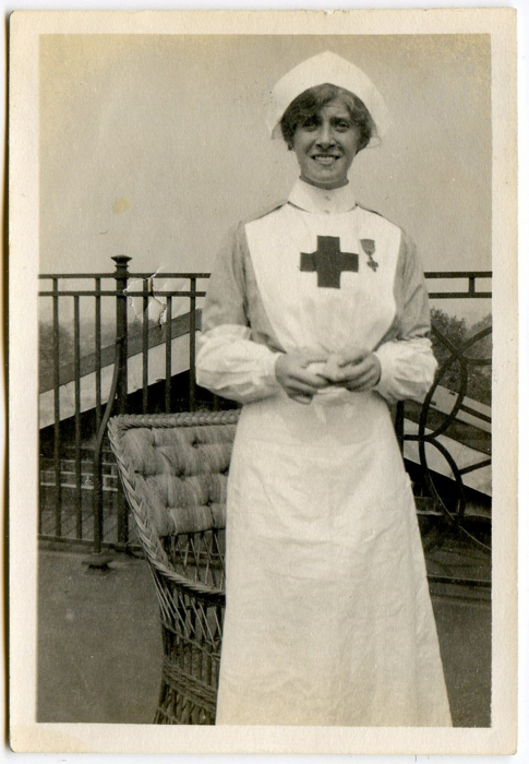 Old fashioned nurses outfit 49