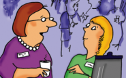 Nurse cartoons – to care or not to care?