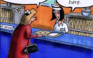 Nurse cartoons – head nurse