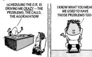 Nurse cartoons – hospital efficiency