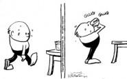 Nurse cartoons – watch what you eat