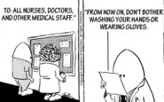 Nurse cartoons – infection control