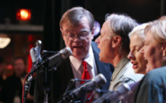 Garrison Keillor and his nurses