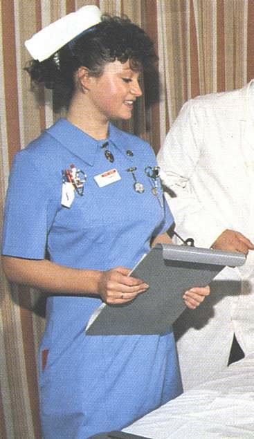 scrubs style history  when dresses were the dress code