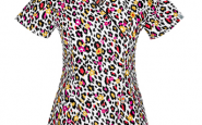 Would you wear animal print scrubs?
