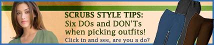 Scrubs magazine style tips for nurses