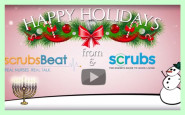 WATCH: A special holiday message from all of us at Scrubs