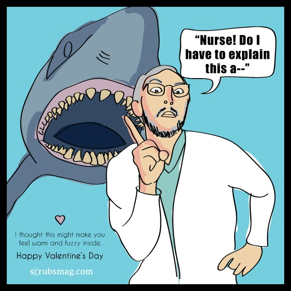 Hilarious Valentine S Day Ecards For Nurses Scrubs The Leading