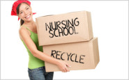 Spring cleaning for nurses: What NOT to keep from nursing school