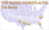 The List: Top rated workplaces in the South