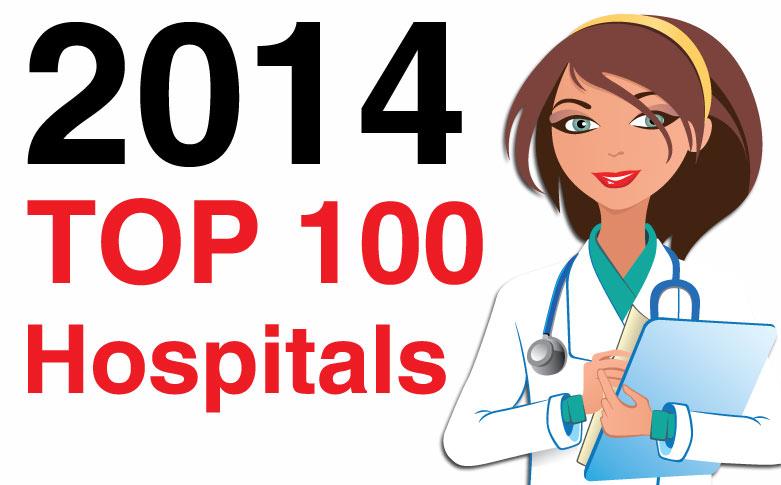 Top 100 U.S. hospitals, 2014 edition