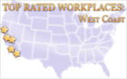 The List: Top rated workplaces on the West Coast