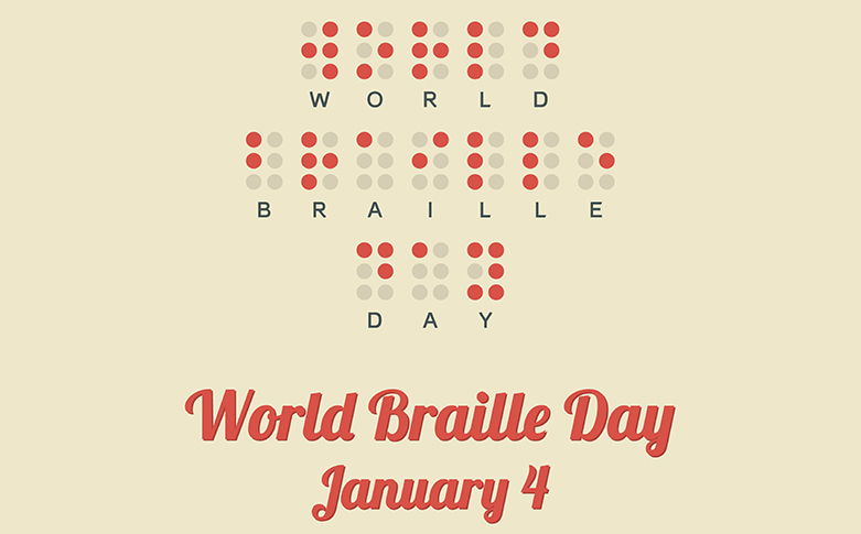 World Braille Day, January 4