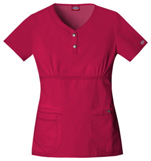 Youtility Jr. Fit Round Neck Top in Crimson