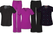 Dressing for your body type: 5 fall scrubs looks for apple-shaped nurses