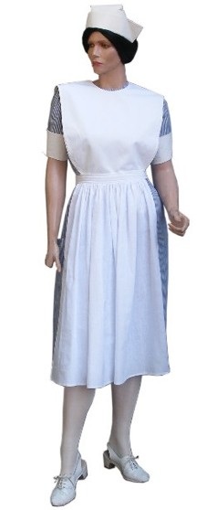 Old fashioned nurses outfit 1
