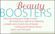 Beauty boosters for nurses