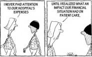 Nurse cartoons – hospital expenses