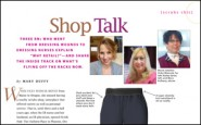 Shop talk–from nursing to retail